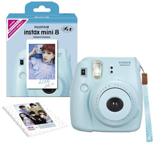 Fuji Instax Mini 8 Blue Limited Edition