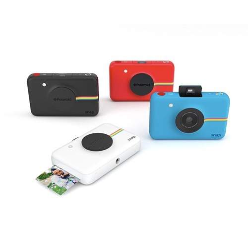 polaroid snap instant camera colors