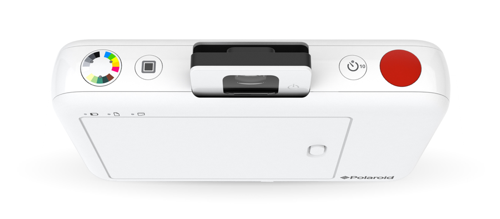polaroid snap instant camera top with controls